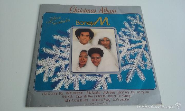 Boney M Christmas Album.Vinilo Disco Lp Boney M Christmas Album