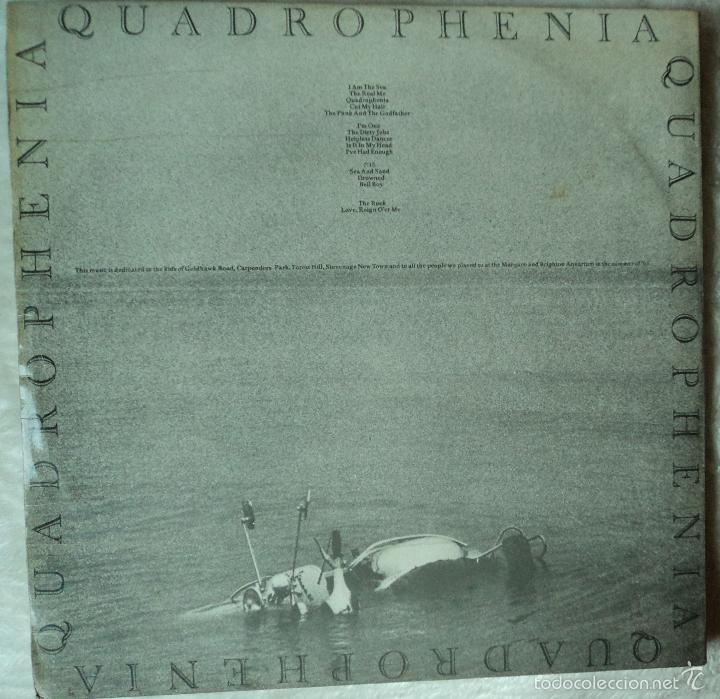 Discos de vinilo: The Who - Quadrophenia - Edición de 1974 de España - Doble y con Libreto - Foto 2 - 57711429