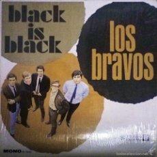Discos de vinilo: LOS BRAVOS. BLACK IS BLACK. PR 73003. PORTADA DE CARTÓN. IMPRESO EN VENEZUELA.. Lote 57714179