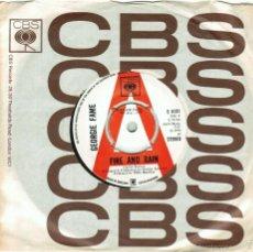 Discos de vinilo: GEORGIE FAME. FIRE AND RAIN/ SOMEDAY MAN. CBS, UK 1970 (SINGLE PROMOCIONAL). Lote 57715181