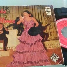 Discos de vinilo: LOLA FLORES EP TU RICA BOCA +3.SEECO.1958. Lote 57718033