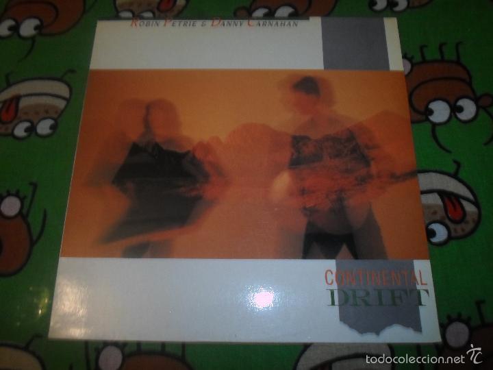 ROBIN PETRIE & DANNY CARNAHAN CONTINENTAL DRIFT (Música - Discos - LP Vinilo - Country y Folk)