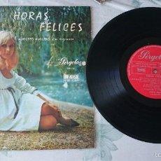 Augusto Alguero y su orquesta: HORAS FELICES (10 PULGADAS. Pergola 1969)