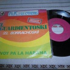 Discos de vinilo: M.K Y SUS COMETAS M.K Y SUS COMETAS EL AGUARDIENTOSKI. Lote 57727969