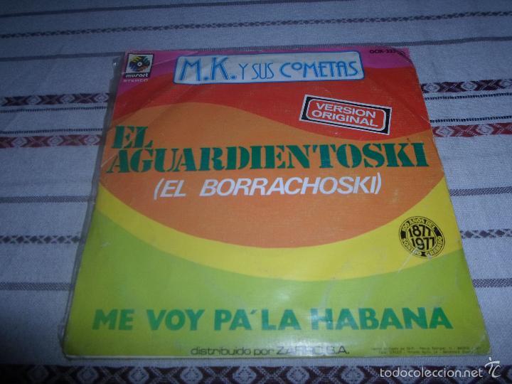 Discos de vinilo: M.K Y SUS COMETAS M.K Y SUS COMETAS EL AGUARDIENTOSKI - Foto 2 - 57727969