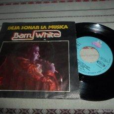 Discos de vinilo: BARRY WHITE DEJA SONAR LA MUSICA. Lote 57728044