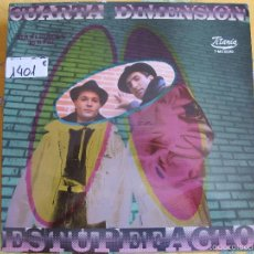 Discos de vinilo: MAXI - CUARTA DIMENSION - ESTUPEFACTO / INSTRUMENTAL VERSION (SPAIN, TITANIA DISCOS 1989). Lote 57732211