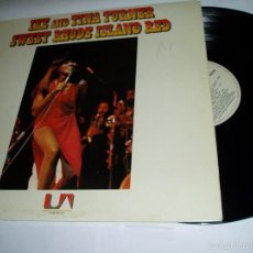 Discos de vinilo: TINA TURNER LP IKE AND SWEET RHODE ISLAND RED 1978. Lote 57733401