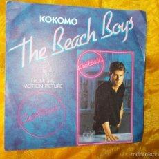 Discos de vinilo: THE MOTION PICTURE COCKTAIL. THE BEACH BOYS (KOKOMO) / LITTLE RICHARD(TUTTI FRUTTI).IMPECABLE. Lote 57734046