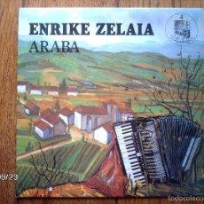 Disques de vinyle: ENRIKE ZELAIA - ARABA. Lote 57744529