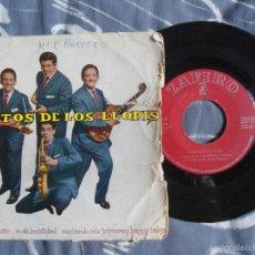 Discos de vinilo: ANTIGUO EP EXITO LOS LLOPIS - ROCK HABILIDAD - CANTANDO MIS TRISTEZAS - ZAFIRO. Lote 57744968