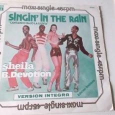 Discos de vinilo: SHEILA B.DEVOTION - SINGINÍN THE RAIN - ED ESPAÑOLA EMI ODEON 1978. Lote 57748510