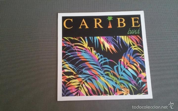 CARIBE BAND -LP.EDIGAL (Música - Discos - LP Vinilo - Grupos y Solistas de latinoamérica)