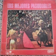 Discos de vinilo: LOS MEJORES PASODOBLES. Lote 57751014