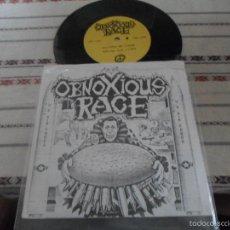 Discos de vinilo: OBNOXIOUS RACE. Lote 57752801