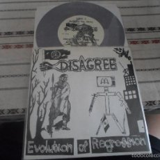 Discos de vinilo: DISAGREE EVOLUTION OF REGRESSION. Lote 57752835
