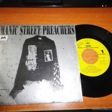 Discos de vinilo: MANIC STREET PREACHERS YOU LOVE US SINGLE VINILO PROMO ESPAÑOL 1992 1 SOLO TEMA RARO. Lote 57754955