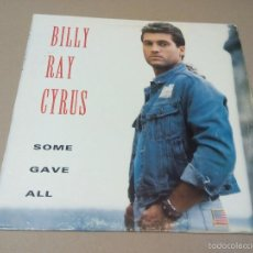 Discos de vinilo: BILLY RAY CYRUS - SOME GAVE ALL (LP 1982, MERCURY 510 635-1). Lote 57755761
