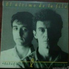 Discos de vinilo: VINILO LP: EL ÚLTIMO DE LA FILA