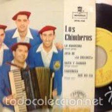 Discos de vinilo: LOS CHIMBEROS -EP 1963 -PEDIDO MINIMO 3 EUROS. Lote 57756137