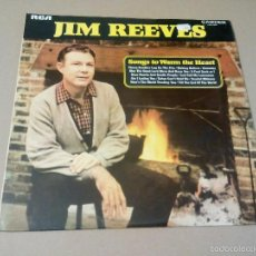 Discos de vinilo: JIM REEVES - SONG TO WARM THE HEART (LP 1972, CAMDEN CDS 1099). Lote 57759506
