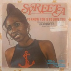 Discos de vinilo: SYREETA TO KNOW YOU IS TO LOVE YOU CON STEVIE WONDER 1972. Lote 57760536