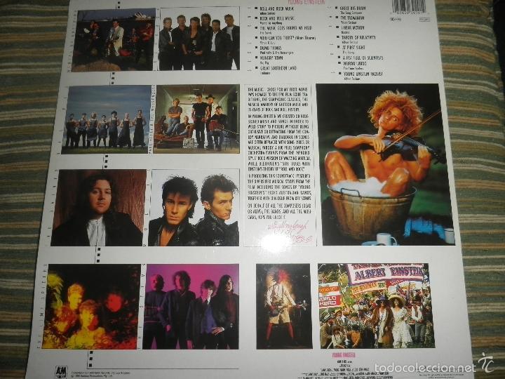 Discos de vinilo: YOUNG EINSTEIN B.S.O. LP - ORIGINAL ALEMAN - A&M RECORDS 1988 CON FUNDA INT. ORIGINAL - - Foto 2 - 57761917