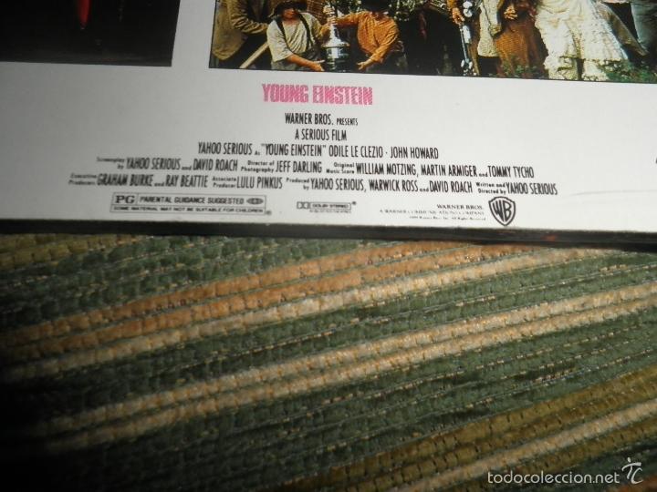 Discos de vinilo: YOUNG EINSTEIN B.S.O. LP - ORIGINAL ALEMAN - A&M RECORDS 1988 CON FUNDA INT. ORIGINAL - - Foto 7 - 57761917