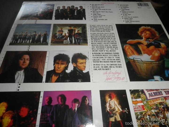 Discos de vinilo: YOUNG EINSTEIN B.S.O. LP - ORIGINAL ALEMAN - A&M RECORDS 1988 CON FUNDA INT. ORIGINAL - - Foto 10 - 57761917