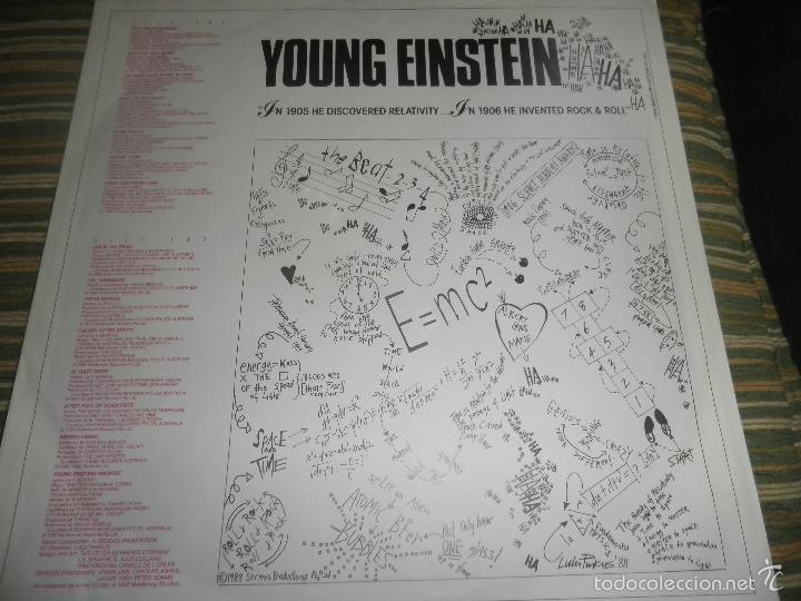 Discos de vinilo: YOUNG EINSTEIN B.S.O. LP - ORIGINAL ALEMAN - A&M RECORDS 1988 CON FUNDA INT. ORIGINAL - - Foto 12 - 57761917