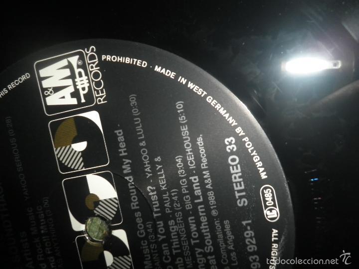 Discos de vinilo: YOUNG EINSTEIN B.S.O. LP - ORIGINAL ALEMAN - A&M RECORDS 1988 CON FUNDA INT. ORIGINAL - - Foto 18 - 57761917