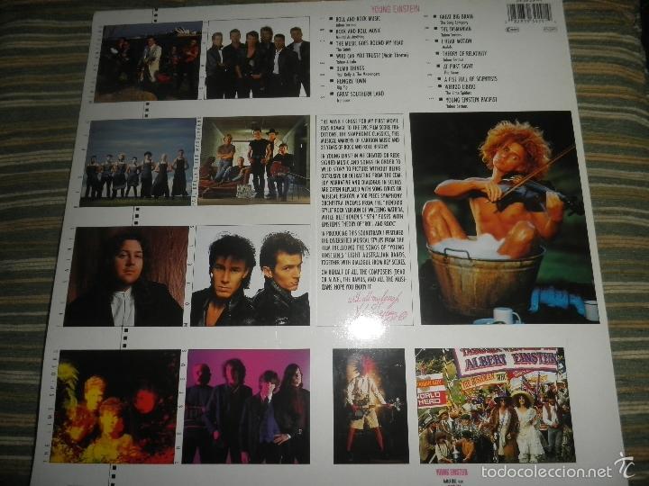Discos de vinilo: YOUNG EINSTEIN B.S.O. LP - ORIGINAL ALEMAN - A&M RECORDS 1988 CON FUNDA INT. ORIGINAL - - Foto 24 - 57761917