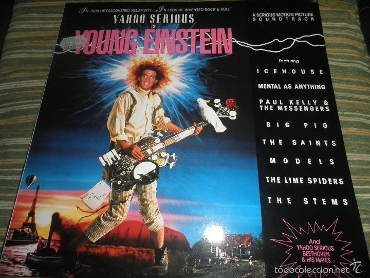 Discos de vinilo: YOUNG EINSTEIN B.S.O. LP - ORIGINAL ALEMAN - A&M RECORDS 1988 CON FUNDA INT. ORIGINAL - - Foto 25 - 57761917