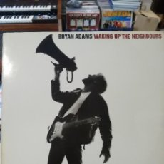 Discos de vinilo: BRYAN ADAMS - WAKING UP THE NEIGHBOURS (DOBLE LP.) . Lote 57763642