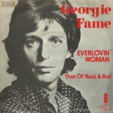 Discos de vinilo: GEORGIE FAME. SINGLE. SELLO ISLAND. EDIT. EN ESPAÑA. AÑO 1974. Lote 57764948