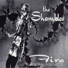 Discos de vinilo: THE SHAMBLES – SHE'S USED TO PLAYING WITH FIRE / LOUISE. Lote 57765843