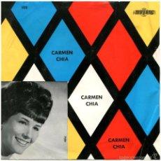 Discos de vinilo: CARMEN CHIA - TE LLEVO EN MI CORAZÓN - EP SPAIN 1966 - MAYANG 105. Lote 57771818