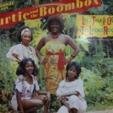 Discos de vinilo: CURTIE AND THE BOOMBOX-LET'S TALK IT OVER IN THE LADIES ROOM-MAXI. Lote 57774383