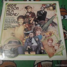 Discos de vinilo: GREAT ACTION FILM THEMES. Lote 57776755