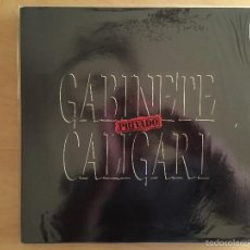 Discos de vinilo: GABINETE CALIGARI: PRIVADO (GATEFOLD). Lote 57791603