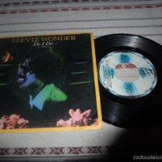 Discos de vinilo: STEVIE WONDER DO I DO. Lote 57794037