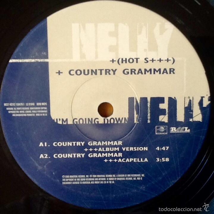 Discos de vinilo: NELLY : COUNTRY GRAMMAR [EEC 2000] - Foto 3 - 57795502