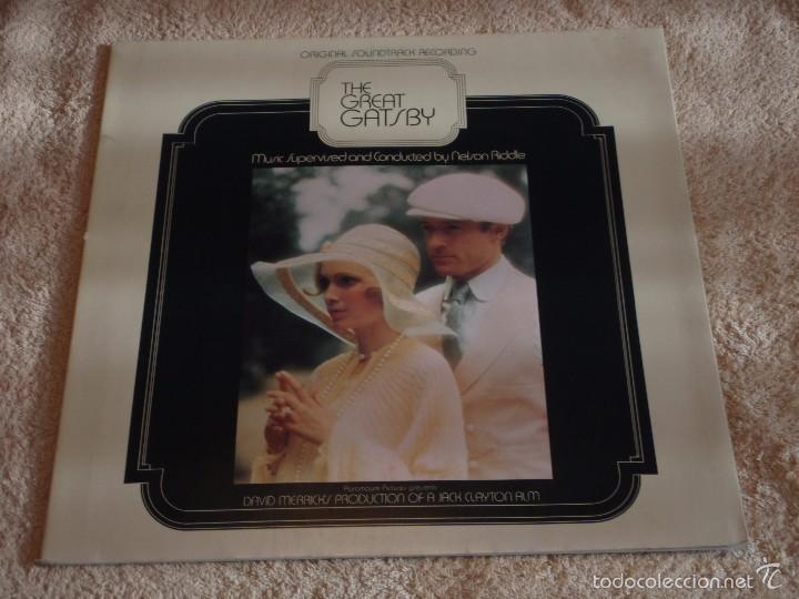 THE GREAT GATSBY ENGLAND - 1974 LP33 PARAMOUNT (Música - Discos - LP Vinilo - Bandas Sonoras y Música de Actores )