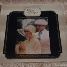 Discos de vinilo: THE GREAT GATSBY ENGLAND - 1974 LP33 PARAMOUNT. Lote 57799475