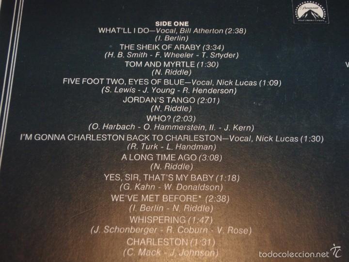 Discos de vinilo: THE GREAT GATSBY ENGLAND - 1974 LP33 PARAMOUNT - Foto 4 - 57799475