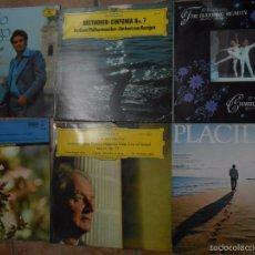 Discos de vinilo: LOTE 6 VINILOS CLÁSICOS. Lote 57800057