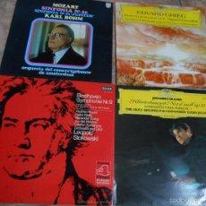 Discos de vinilo: LOTE DE 4 VINILOS. Lote 57800129