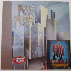 Discos de vinilo: LP MADRID - LOS SIREX - CON DEDICATORIA Y FIRMADO.. Lote 57807281