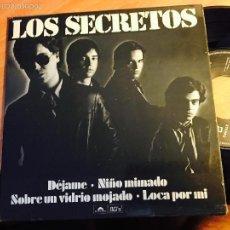 Discos de vinilo: LOS SECRETOS (DEJAME +3) EP 1980 ESPAÑA SERIE ESPECIAL NUMERADA Nº 855 (EPI1). Lote 57808549