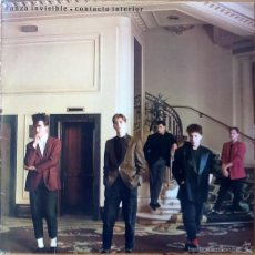 Discos de vinilo: DANZA INVISIBLE : CONTACTO INTERIOR [ESP 1983] LP. Lote 55185499